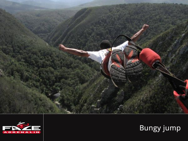 Face Adrenalin - Bungy jump